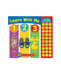 Learn With Me: 1 To 20