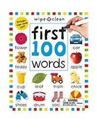 Wipe Clean: First 100 Words (Wipe Clean Learning Books)
