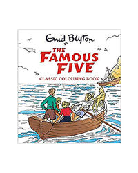The Famous Five Classic Coloruing Book