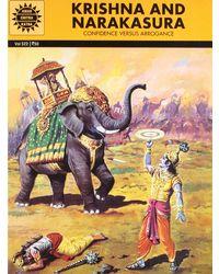 Krishna and Narakasura (Amar Chitra Katha)