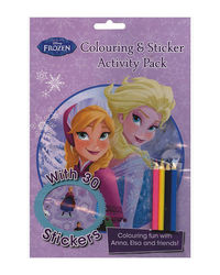 Disney Frozen Colouring & Sticker Activity Pack: Colouring Fun With Anna, Elsa And Friends!