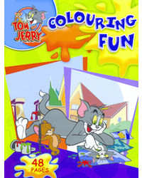 Tom & Jerry Colouring Fun Blue