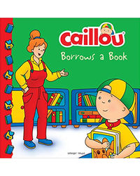 Caillou- Borrows A Book