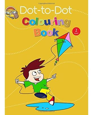 Dot to dot colouring book 2