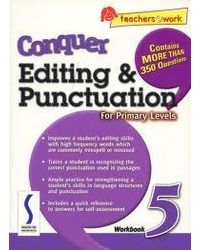 Conqure Editing & Punctuation For Primary Levels Work Book5