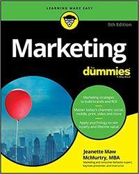 Marketing For Dummies, 5/e