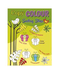 Copy Colour Smiling Stars