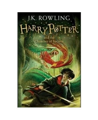 Harry Potter and the Chamber of Secrets- New Jacket