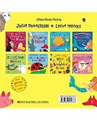 Julia Donaldson and Lydia Monks x 8 Glitter Books Pack