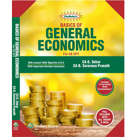 Padhuka' s Basics of General Economics for CA CPT, 8E