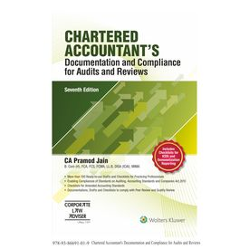CHARTERED ACCOUNTANT S Documentation and Compliance for Audits and Reviews