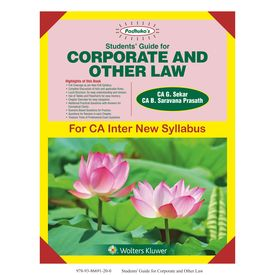 Students' Guide for Corporate and Other Law for CA- Inter (IPCC)