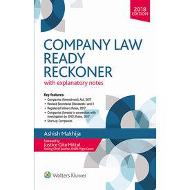 Company Law Ready Reckoner/1ED