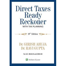 Direct Taxes Ready Reckoner with Tax Planning, 19e