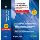 Service Tax Law & Procedure, Budget Edition, 2016, 24E