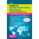 "An Insight into Indian Accounting Standards ("" Road map, analysis and guidance for implementation to Ind AS converged with IFRS"" ) – 2 volumes"