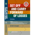 Set Off And Carry Forward Of Losses, 5e