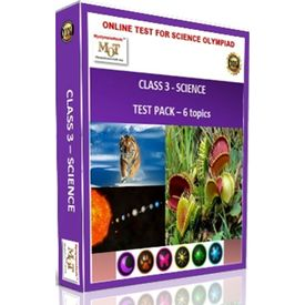 Class3, Science Olympiad online test pack, 6 topics