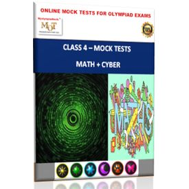 Class 4, Online Topic wise tests, Math+ Cyber- MOT