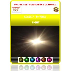 Class 7, light, Online test for Science Olympiad