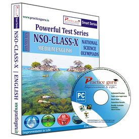 Class 10- NSO Olympiad preparation- powerful test series (CD)