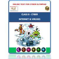 Class 8, Internet & Viruses, Online Cyber Olympiad test