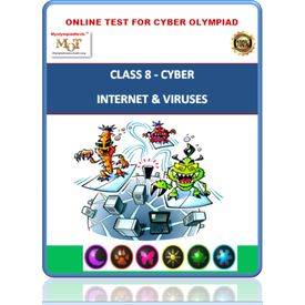 Class 8, Internet & Viruses, Online Cyber Olympiad test