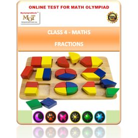 Class 4, Fraction, Online test for Maths Olympiad