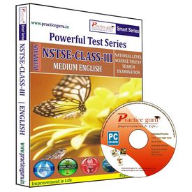 Class 3- NSTSE Olympiad preparation- Powerful test series (CD)