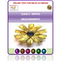 Class 2, Measurement, Online test for Maths Olympiad