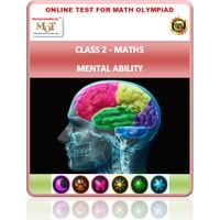 Class 2, Mental ability, Online test for Maths Olympiad