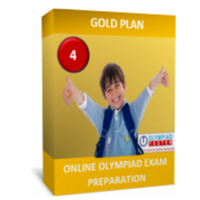 Class 4, Gold Plan, IMO Preparation (Live mock tests, online sample tests, printable worksheets)
