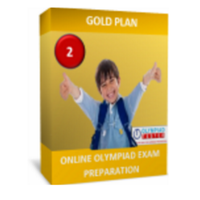 Class 2, Gold Plan, NSO Preparation (Live mock tests, online sample tests, printable worksheets)