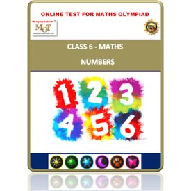 Class 6, Numbers, Online test for Math Olympiad