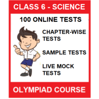 Class 6 Science Olympiad preparation guide with 100 Online tests