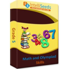 Class 5- Online Practice for Math Olympiads (With Reasoning) - 3 months- Intelliseeds