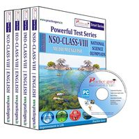 Class 8- NSO NCO IMO IEO Combo CD- pack for Olympiad preparation