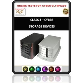 Class 3, Storage devices, Online test for Cyber Olympiad