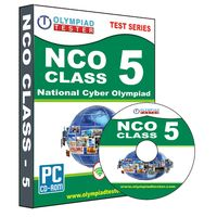 Class 5- NCO Olympiad preparation- Practice test series (CD)