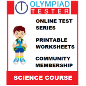 Class 3 Science Olympiad Course- (Online test series+ Printable worksheets+ Community Membership)