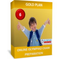 Class 6 NSO IMO IEO preparation - GOLD PLAN.