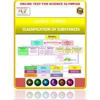 Class 6, Separation of substances, Online test for Science Olympiad