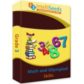 Class 3- Maths Olympiad (Including Reasoning) - 3 months- Intelliseeds