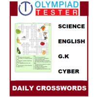 Class 4 Daily Crosswords- 200 Printable puzzles