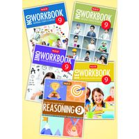 Class 9: Combo for NSO, IMO, IEO, NCO- Set of 5 Workbook and Reasoning Books