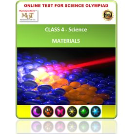 Class 4, Materials, Online test for Science Olympiad