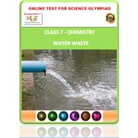 Class 7, Water waste, Online test for Science Olympiad