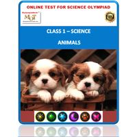 Class 1- Animals- Online test for Science Olympiad