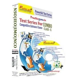 Class 10- IEO NSO NCO IMO test series (CD Pack)