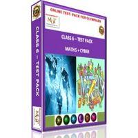 Class 6, Online test pack, Math+ Cyber